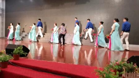 大型情景歌舞《映山红》秋之声合唱艺术团演出