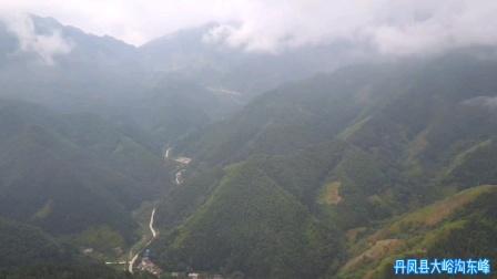 航拍丹凤县大峪沟东峰村(4k版)2020.8.15