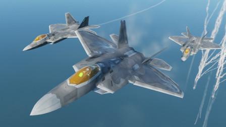 100枚国产红旗9防空导弹,能击落三十架美军F22战机吗?作战模拟