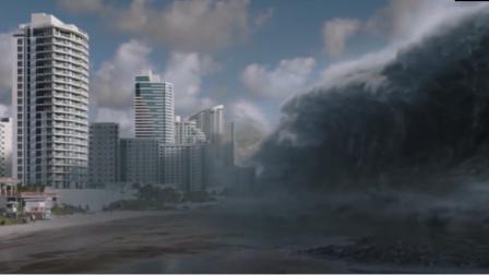 在自然灾害面前下人类多渺小?镜头记录过程,看完众人沉默不语!