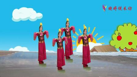 广场舞《达坂城的姑娘》时尚动感,越跳越想跳