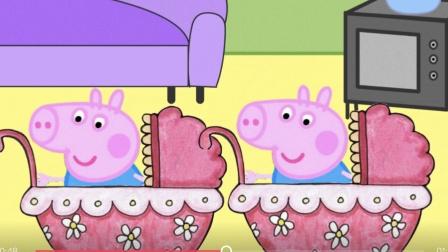 小猪佩奇之佩佩家多了一个双胞胎弟弟 猪爸爸都分不清他们