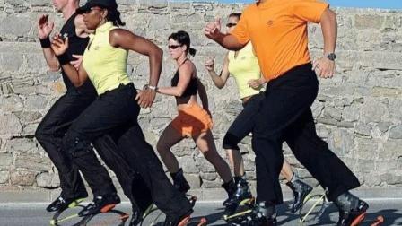 """老外的""""科技感""""跑鞋,穿上去之后轻功大成,未来或将替代自行车?"""