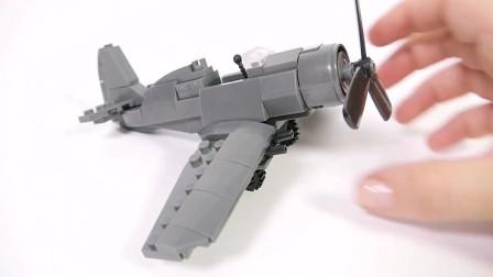 积木飞机玩具,多棒