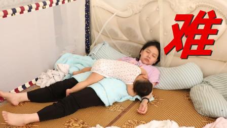 宝宝睡前大曝光,睡觉堪比打仗,每天都要经历好几回太痛苦
