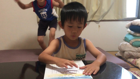 【Happy face】【Children】面包超人 学了半年的汉语这水平