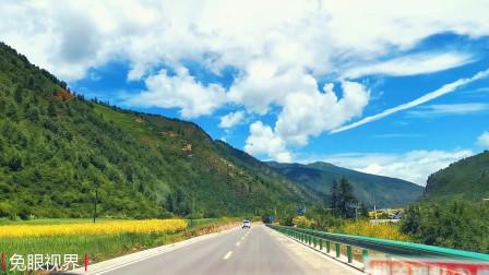 自驾甘青小环线,网友说甘南是甘肃神奇之地,开车一定一定要慢?