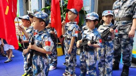 华侨幼儿园升旗仪式