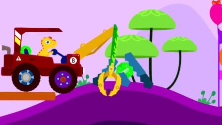 恐龙世界 恐龙总动员 恐龙玩具视频动画片315