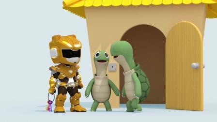 麦克斯看到了难过的乌龟爸爸 问明原因后他们出发了 他们要去干嘛呢?迷你特工队游戏