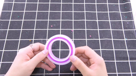 DIY滴胶手镯脱模,因为胶不够手镯变手环,这次不能算翻车吧?