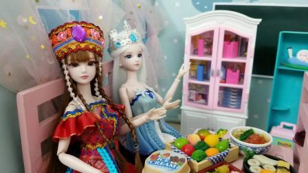 叶罗丽故事 冰公主是玩脑筋急转弯的高手,谁能赢她呢?
