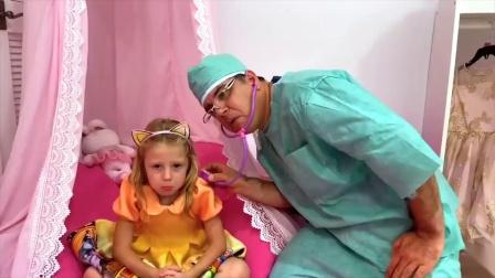 萌宝益智幼教:萌娃小可爱非常不开心,医生也不知道发生了什么,这是怎么回事?