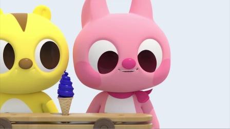 露西吃了冰淇淋 是不是很开心呢?迷你特工队游戏
