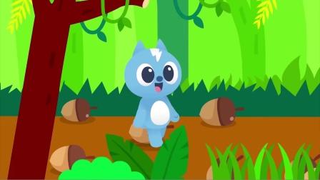 弗特要寻找蓝色的松果 他能找到吗?迷你特工队游戏