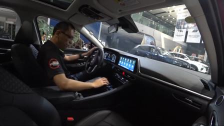 北京现代索纳塔10静态体验篇-0991车评中心