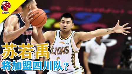 CBA广厦队悍将苏若禹将加盟四川队?