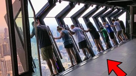 """每天源源不断的游客排队""""自杀"""",上去不可后悔,看起来都发抖!"""