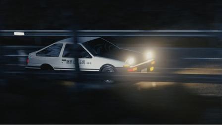 C4D头文字D赛车动画场景创建