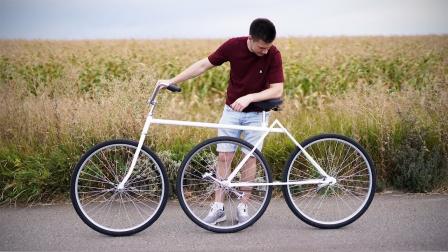 外国手工达人随意改造自行车,竟意外获得专利,太牛了!
