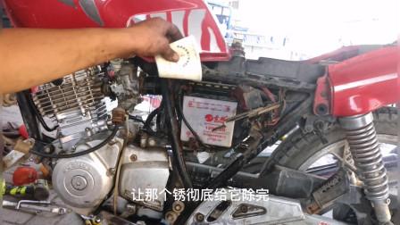 用一杯白开水就能修好摩托车启动不着?别不信试过后真的特别管用