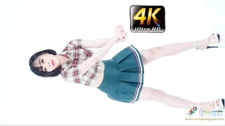 《春光娱乐》4K 模特热舞,蓝色短裙 正面