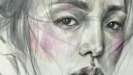 跟着老师这么画,新手也能画好素描人像!
