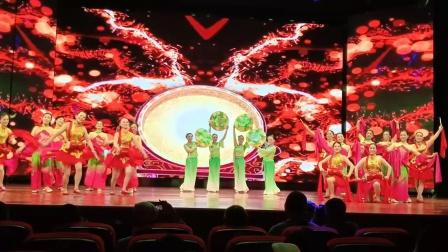 古棠舞蹈队表演,小康欢歌