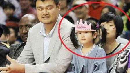 姚明的女儿已经9岁,身高失控,球迷:基因太强了!