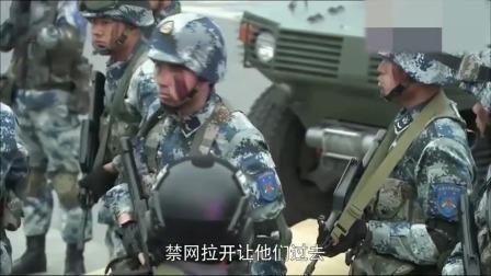 蓝军占领特警基地,你们有枪我们也有,而且我们是实弹