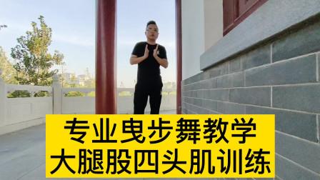 曳步舞不要盲目学习,练习之前要训练大腿股四头肌,保护膝盖