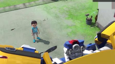 益智动画:小咖在机器人的帮助下,及时解决了城市燃气危机