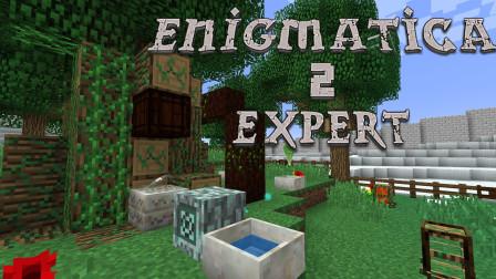 我的世界:挤压世界的机器  我的世界Enigmatica2探险P22【某咪sa】