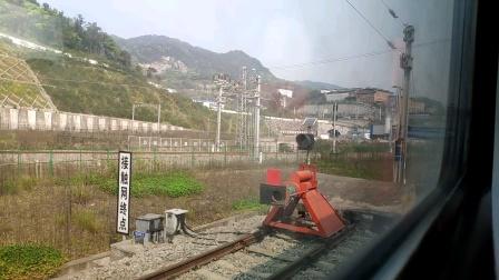 2020-3-24K201次达州-广州重庆西站停车