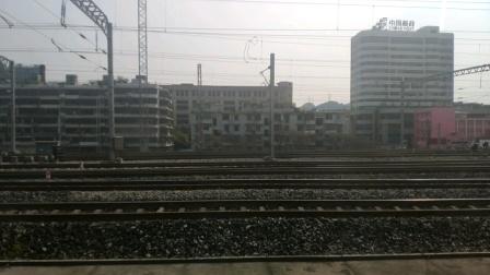 K201次贵阳站开车