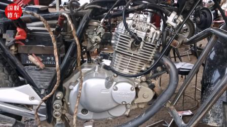 摩托车发动机杂音大如果不处理会发生什么呢?师傅用实车带你看下