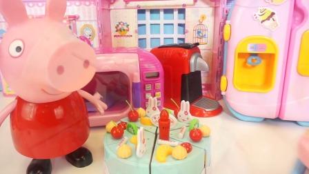北美玩具:小猪佩奇豪华独家屋新玩具开箱
