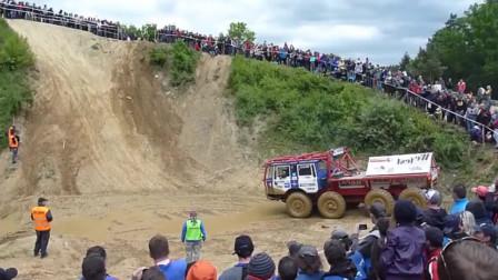 世界上马力最强的汽车,能爬90度的斜坡?牛顿要跳出来了