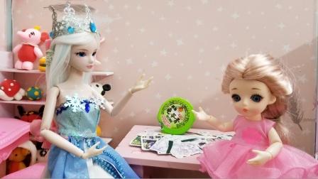 叶罗丽故事 冰公主的贴纸被弄脏了,妹妹会主动承认错误吗?