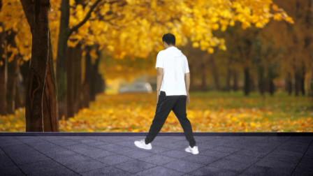 零基础曳步舞第4课:简单8步开合跳,专门练习踩点和弹跳