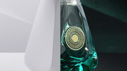 C4D香水广告建模OC渲染