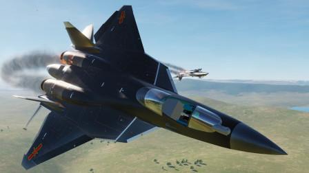 20架中国苏57战机,遭苏30MKI战机越界拦截,结局如何?作战模拟