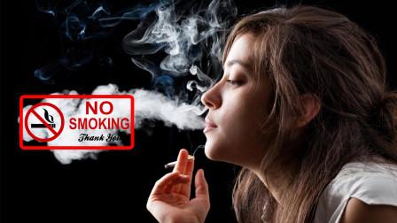 为什么香烟在吸之前是蓝色,吐出来却成了白色?
