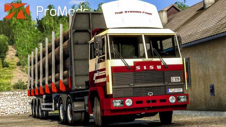 欧洲卡车模拟2 #348:驾驶70年代老车西苏M162前往爱尔巴桑 | Euro Truck Simulator 2