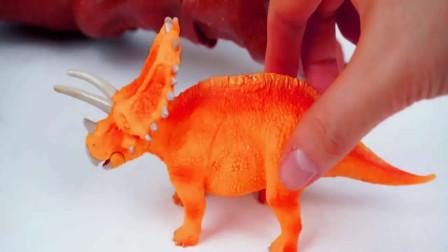 霸王龙归还恐龙蛋小恐龙