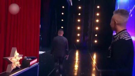 中国达人秀:选手上台自称模仿岳云鹏!还没开唱,杨幂就按了否!
