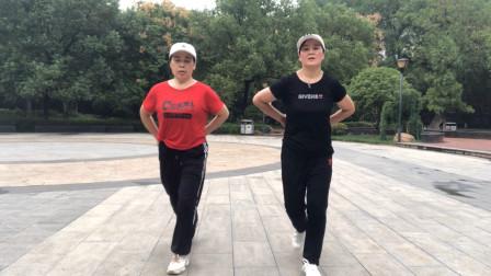 鬼步舞《情人雨》基础步练习,每天练习30分钟,不想学会都难