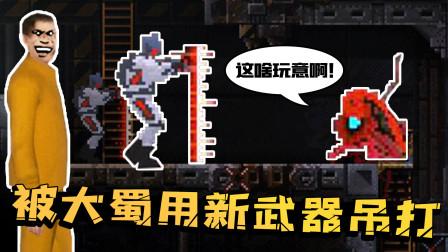 未登记SCP怪物用计戏弄研究员,逃离成功前却被大蜀的新武器打败