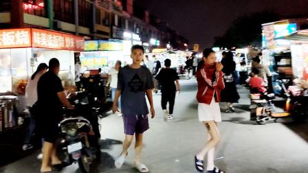 临沂河东这个夜市又大又接地气,跟赶集一样,还有小吃街!