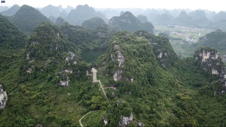 广西唯一的天然天池,有着美丽的神话传说 据说还是风水大地